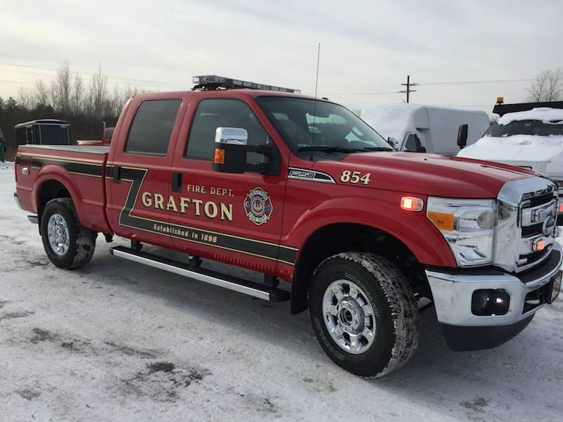 854 is a 2015 Ford F250 4x4 Crew Cab pickup