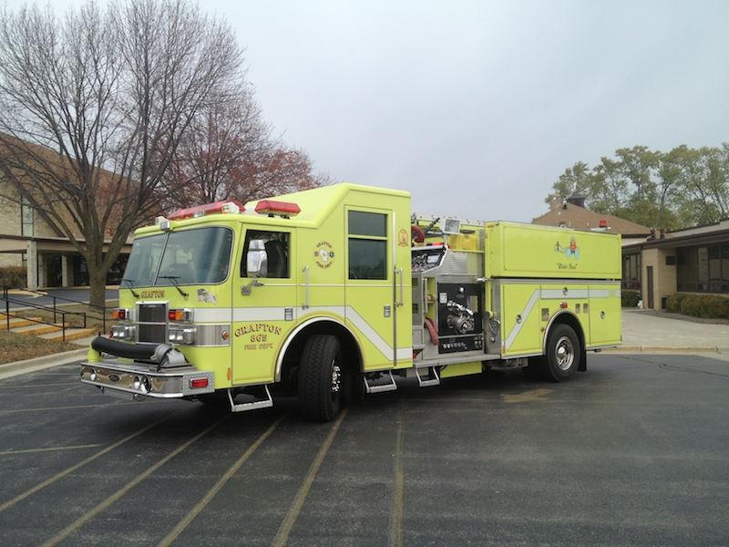 865 is a 2002 Pierce Dash pumper