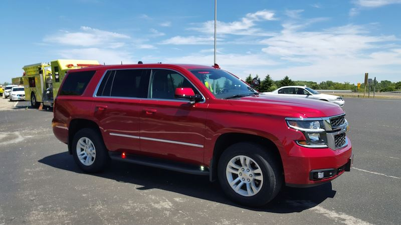 Car 870 is a 2015 Chevy Tahoe