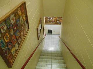 Fire Station stairway