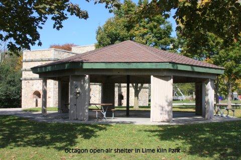 Grafton Wi Official Website Lime Kiln Park Octagon